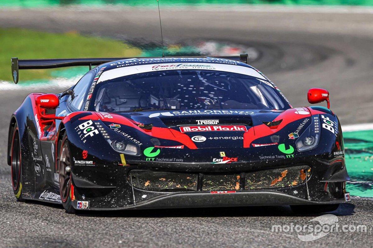 Matteo Greco, Sean Hudspeth, Mattia Michelotto, Team Easy Race, Ferrari 488 GT3 EVO