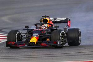 Max Verstappen, Red Bull Racing RB16, spin