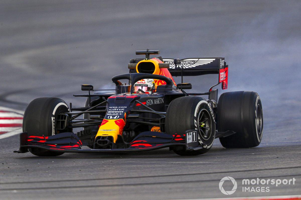 Testacoda di Max Verstappen, Red Bull Racing RB16