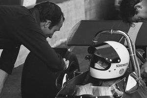Tim Schenken, Frank Williams Racing Cars, De Tomaso 505, mit Frank Williams