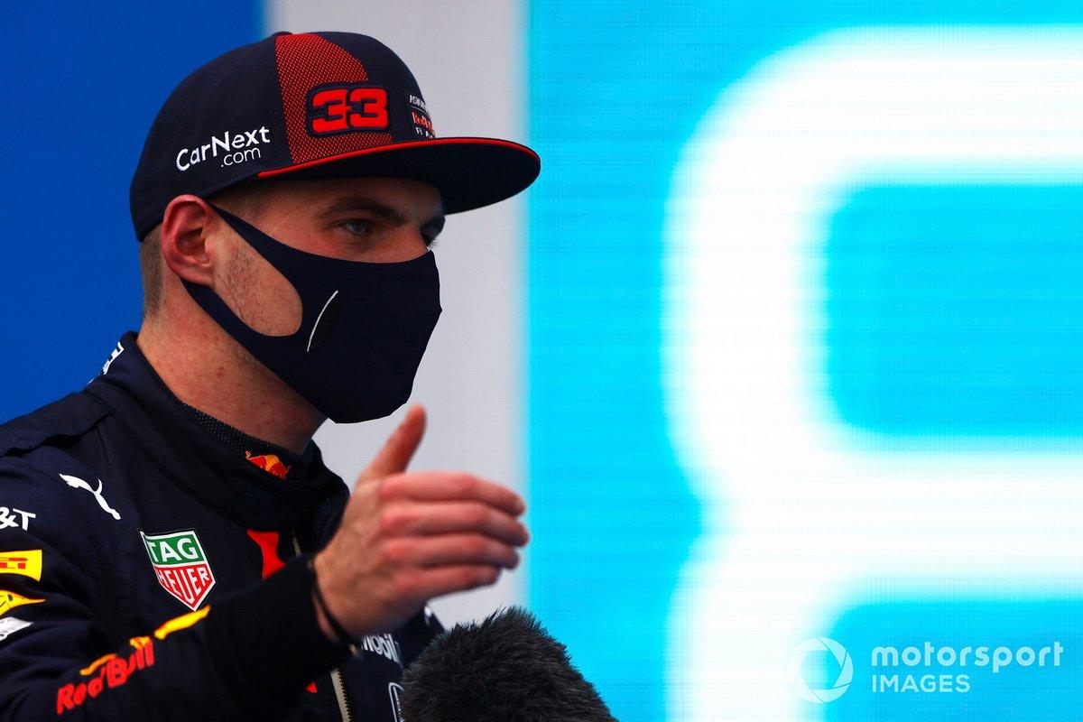 Max Verstappen, Red Bull Racing, al Parc Ferme