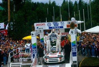 1. Juha Kankkunen, Denis Giraudet, Toyota Celica Turbo 4WD