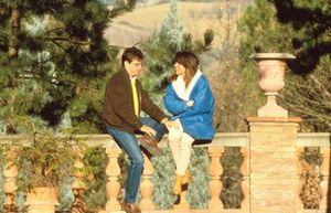 Alessandro Nannini con su esposa Paola