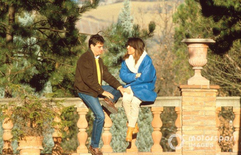 Alesandro Nannani at home with his wife Paola