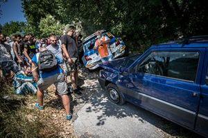 Damiano De Tommaso, Massimo Bizzocchi, Škoda Fabia Rally2 Evo