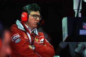 Ferrari's Technical Director Ross Brawn