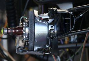 Les freins de la Haas VF-20