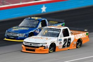 Tyler Ankrum, GMS Racing, Chevrolet Silverado Liuna! and Todd Gilliland, Front Row Motorsports, Ford F-150 Speedco
