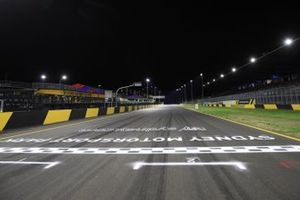 Track straight line by night