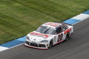 Erik Jones, Joe Gibbs Racing, Toyota Camry STANLEY Security