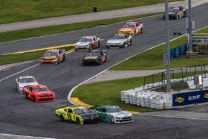 Austin Cindric, Team Penske, Ford Mustang MoneyLion, Brandon Jones, Joe Gibbs Racing, Toyota Supra Menards/Inspire