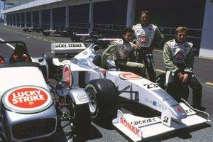 Ricardo Zonta, Darren Manning and Patrick Lemarie, BAR Honda