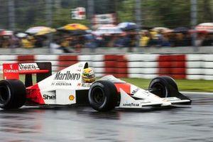 Ayrton Senna, McLaren MP4-5 Honda