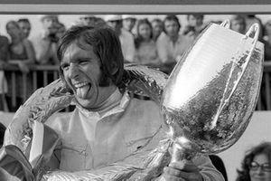 Ganador de la carrera Emerson Fittipaldi, Lotus 72D