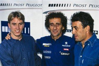 Ник Хайдфельд, руководитель Prost GP Ален Прост, Жан Алези