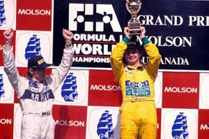 Stefano Modena, Tyrrell and Nelson Piquet, Benetton
