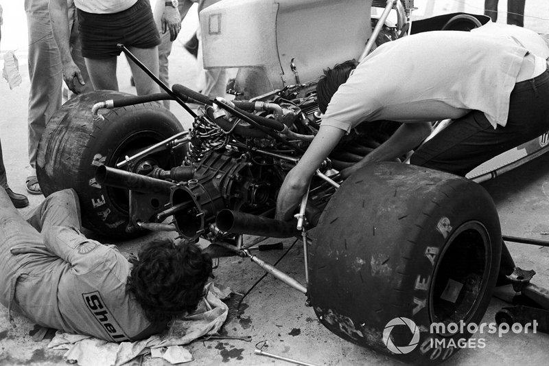 Chris Amon, Matra Simca MS120C, GP d'Argentina del 1972