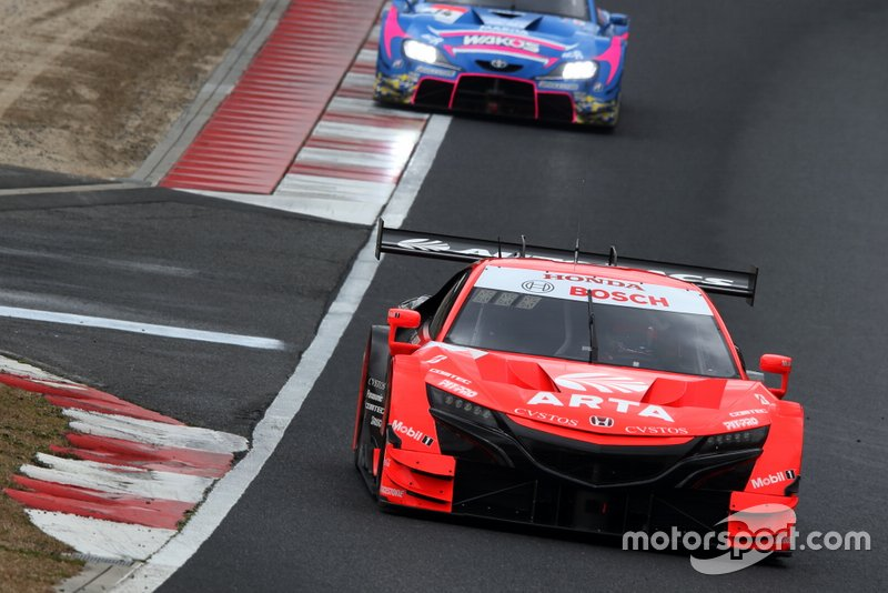#8 Autobacs Racing Team Aguri Honda NSX-GT: Tomoki Nojiri, Nirei Fukuzumi