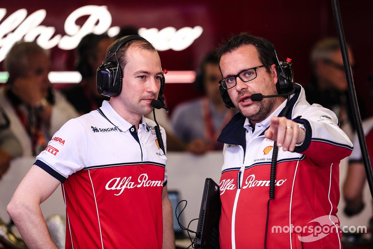 Julien Simon-Chautemps, Ingegnere di pista di Kimi Räikkönen, Alfa Romeo