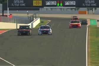 Racewinnaar Shane van Gisbergen, Triple Eight Race Engineering, tweede plaats Max Verstappen
