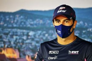 Sergio Perez, Racing Point in conferenza stampa