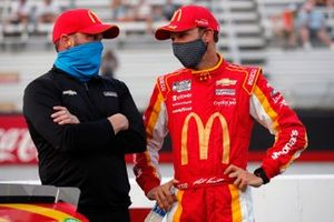 Matt Kenseth, Chip Ganassi Racing, mit Chad Johnston