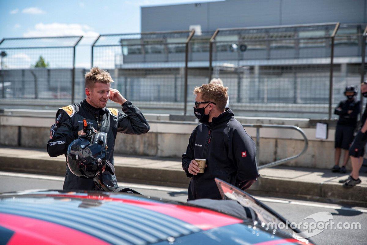 Test in pista con Nico Hülkenberg