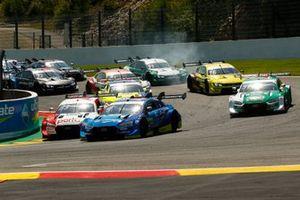 Start action , Robin Frijns, Audi Sport Team Abt Sportsline, Audi RS5 DTM leads