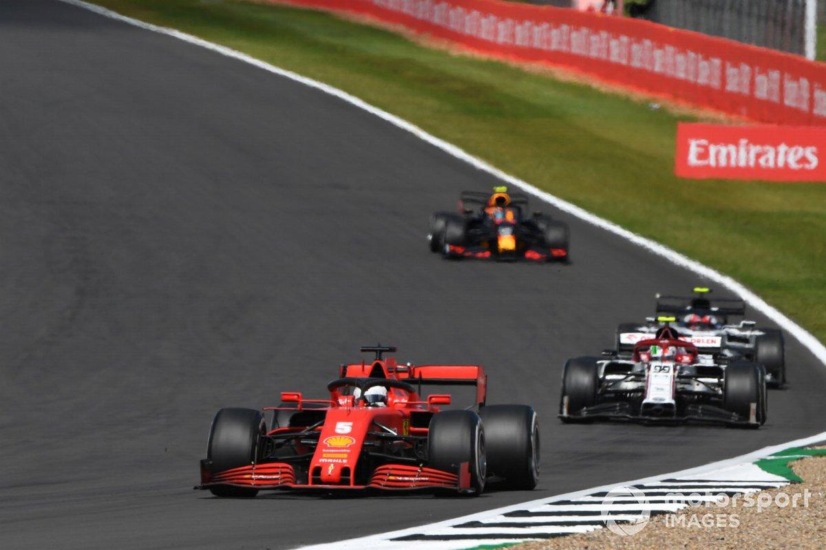 Sebastian Vettel, Ferrari SF1000, Antonio Giovinazzi, Alfa Romeo Racing C39, Pierre Gasly, AlphaTauri AT01, Alex Albon, Red Bull Racing RB16
