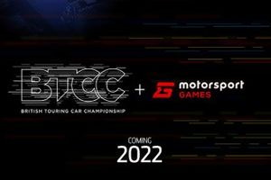 BTCC and Motorsport Games announcement