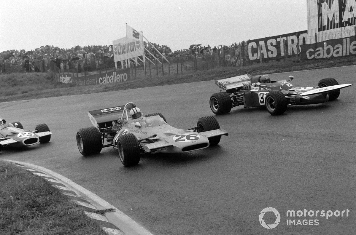 Henri Pescarolo, March 711 Ford, Denny Hulme, McLaren M19A Ford, Tim Schenken, Brabham BT33 Ford