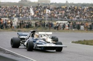 Jackie Stewart, Tyrrell 003 Ford, Howden Ganley, BRM P160