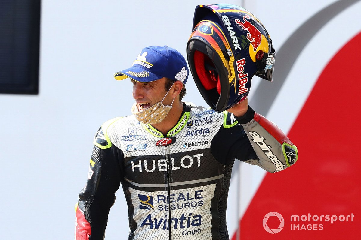 Podio: terzo classificato Johann Zarco, Avintia Racing