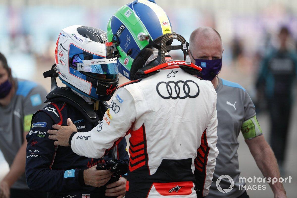 Lucas Di Grassi, Audi Sport ABT Schaeffler, Sam Bird, Virgin Racing