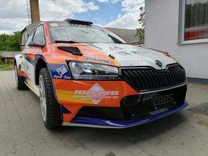 Ádám Velenczei, Tamás Szőke, Skoda Fabia Rally2 evo