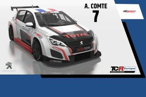 Aurélien Comte, DG Sport Compétition, Peugeot 308 TCR
