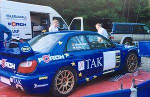 Leszek Kuzaj, Erwin Mombaerts, Subaru Impreza S7 WRC01