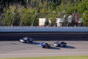 Raphael Lessard, Kyle Busch Motorsports, Toyota Tundra SiriusXM, Todd Gilliland, Front Row Motorsports, Ford F-150 Speedco, Parker Kligerman
