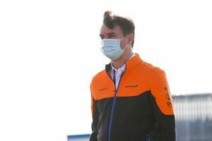 David Redding, Manager de l'équipe, McLaren