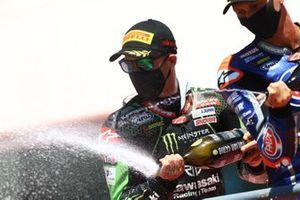 Jonathan Rea, Kawasaki Racing Team, Michael van Der Mark, Pata Yamaha