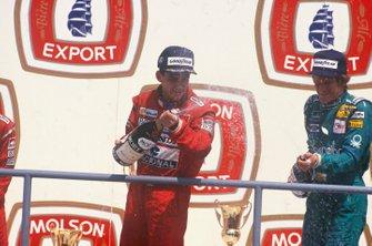 Ayrton Senna, McLaren, Thierry Boutsen, Benetton