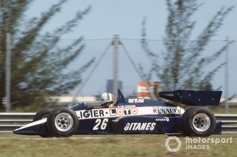 Andrea de Cesaris, Ligier JS23 Renault