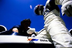 Teo Fabi gets into his Brabham BT53 BMW