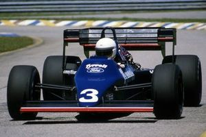Martin Brundle, Tyrrell 012, GP del Brasile del 1984