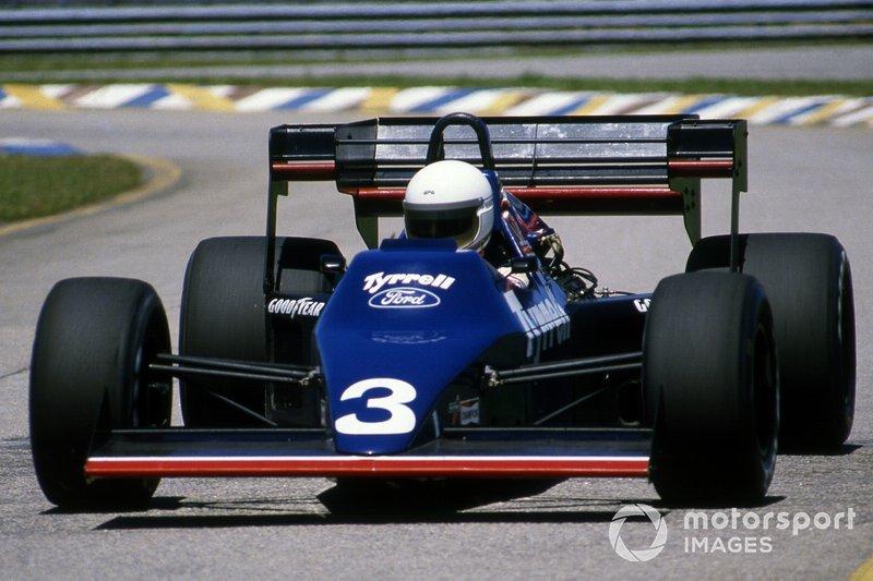 Martin Brundle, Tyrrell 012