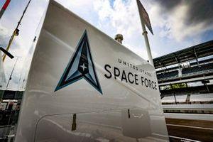 Ed Carpenter, Ed Carpenter Racing Chevrolet, Space Force, Semper Supra
