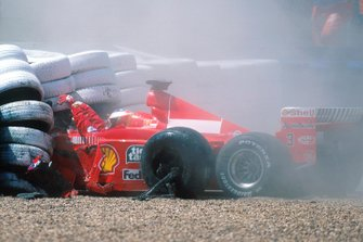 Michael Schumacher, Ferrari F399 crash