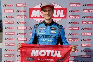 Motul Pole Award winner #86 Meyer Shank Racing w/ Curb-Agajanian Acura NSX GT3, GTD: Trent Hindman
