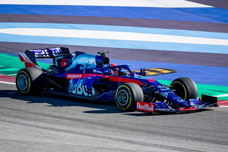 2019: Scuderia Toro Rosso STR14