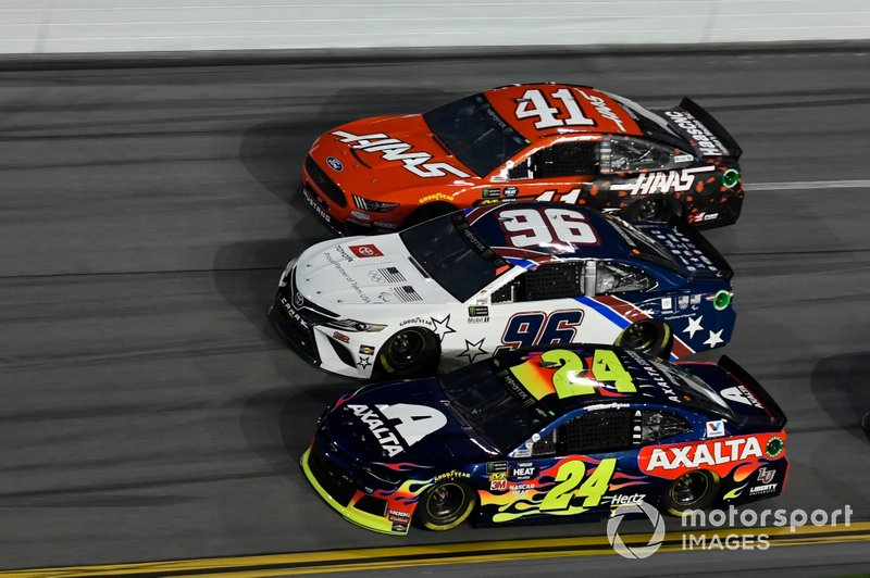 William Byron, Hendrick Motorsports, Chevrolet Camaro Axalta, Parker Kligerman, Gaunt Brothers Racing, Toyota Camry Gaunt Brothers Racing / Toyota, Daniel Suarez, Stewart-Haas Racing, Ford Mustang Haas Automation